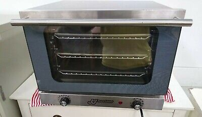 Jj Snacks Global Solution Nemco 14 Size 3-pan Countertop Convection Oven 120v