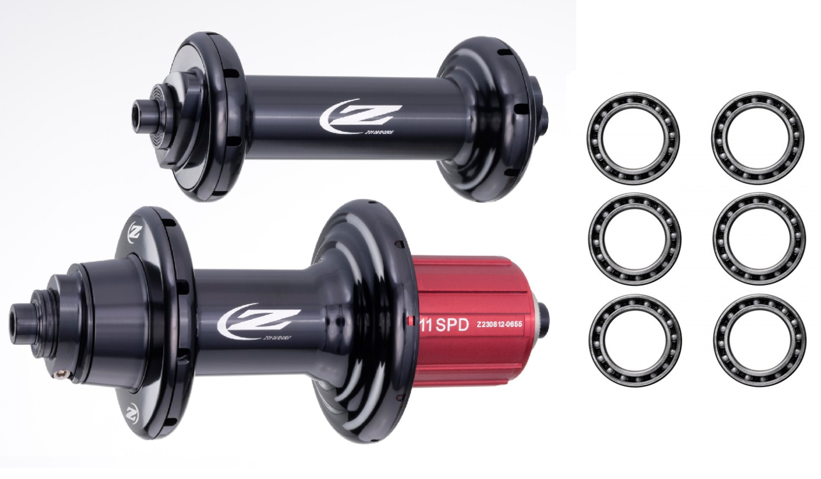 J/&L Ceramic Bearings for DT Swiss 350 Disc Brake Thru Axle//QR Hubs-StraightPull