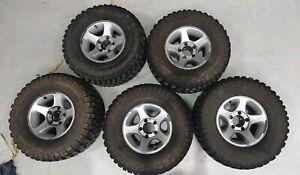 """Factory 105 Series Landcruiser GXL Alloy wheels on BFG KM2 33"""""""