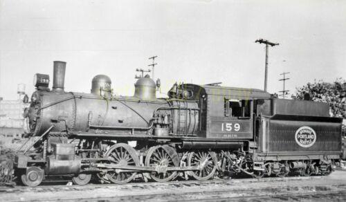 SPS Spokane Portland & Seattle 4-6-0 Locomotive #159 - Vintage Railroad Negative