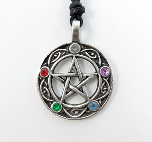 Pentacle-of-Life-Amulet-Wiccan-Pagan-Celtic-Gothic-Pentagram-Pendant-Necklace