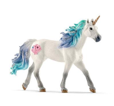 Schleich 70571 Sea Unicorn Stallion Bayala Toy Model Horse Figurine 2018 - NIP