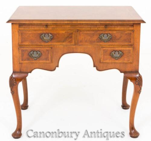 Walnut Queen Anne Lowboy Sideboard
