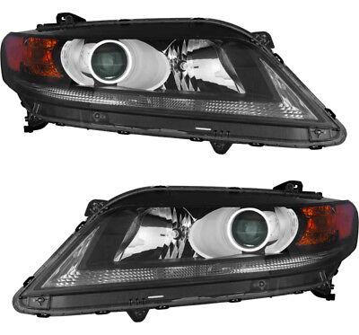 Honda Accord Headlight Assembly - Headlights headlight Assembly Pair Set for 2013-2015 Honda Accord Coupe 2.4L