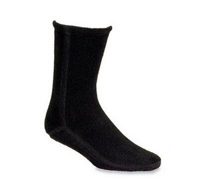 Acorn Versa Fleece Socks Mens Womens All Sizes Black