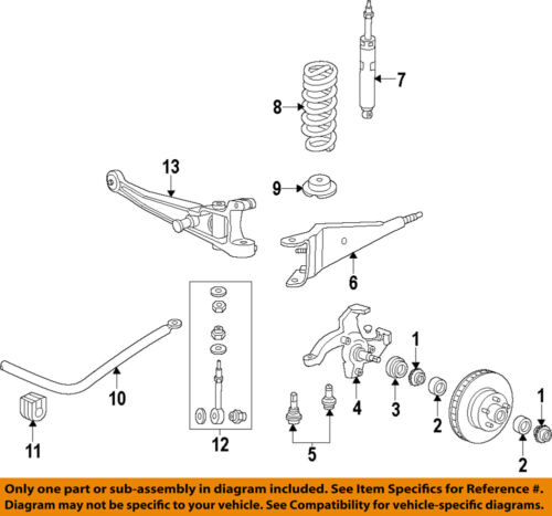 FORD OEM 9914 E350    Super       Duty       Front       Suspension   Coil