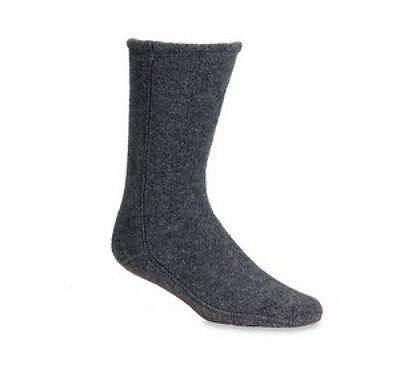 Acorn Versa Fleece Socks Charoal Mens Womens All Sizes