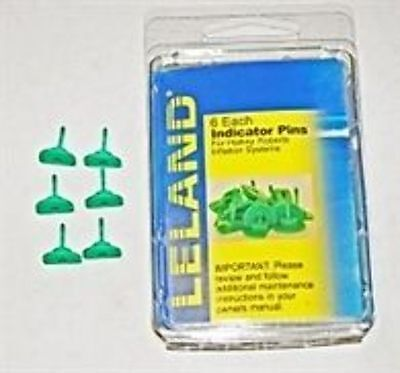 - Green Indicator Pins for Inflatable Life Jackets / PFDs
