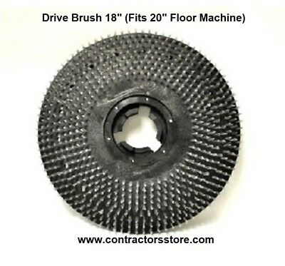 Drive Brush 18 Fits 20 Floor Machine Floor Machine Pad Pullman Holt
