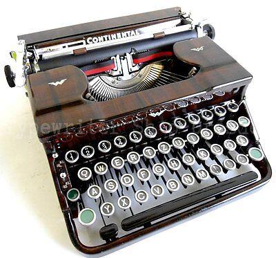 Schreibmaschine Wanderer Continental 100, vintage typewriter máquina de escribir