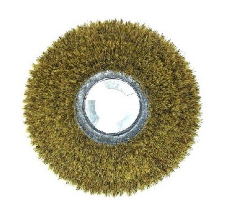 """Floor Machine Polish Brush 18""""  Mixture of Tampico & Palymyra Fibers"""