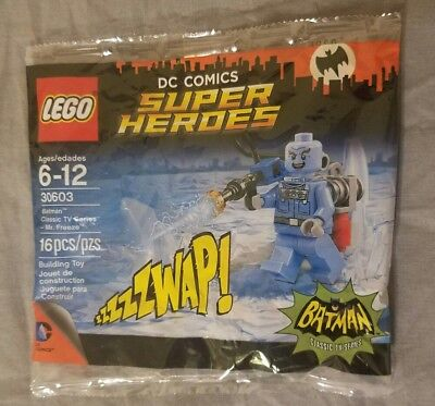 LEGO Batman Classic TV Series - Mr Freeze Minifgiure NIB 30603