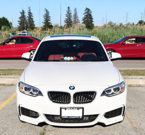 For SALE/LEASE TAKEOVER: 2016 BMW 228XI AWD WHITE W/ RED INTER