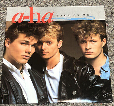 """a-ha Take On Me EP Extended Play 12"""" Love Is Reason UK Import W9006 Warner Bros"""