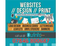 Mobile-friendly, Bespoke & Professional Website Design & Development | Design & Print