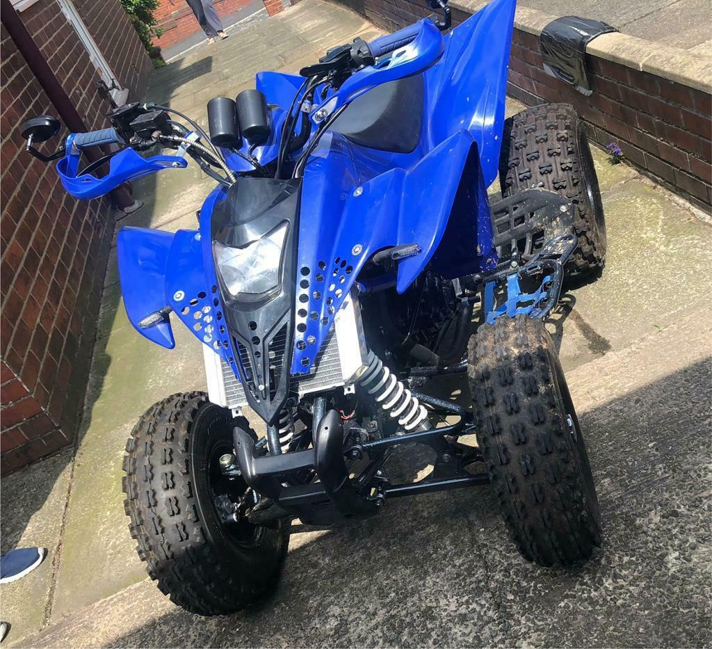 HISUN ROAD LEGAL QUAD WITH GPZ 500 CONVERSION - FULLY REBUILT   in Oldham,  Manchester   Gumtree