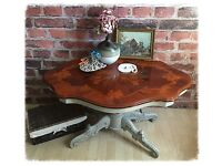 Shabby Chic Vintage Coffee Table with Original Top