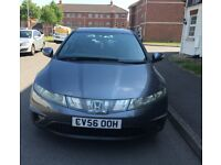 Honda Civic 2.2 Diesel Manual With Full Service History MOT 31 August 2019