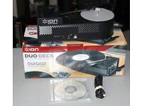 ION Duo Deck USB Record & Tape Converter