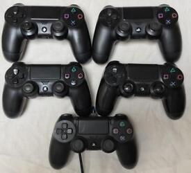 SONY PLAYSTATION OFFICIAL PS4 CONTROLLERS REMOTE PADS WIRELESS DUAL SHOCK JOYSTICKS