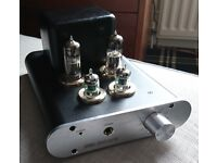 Little Dot Mark III Headphone Valve Amplifier, with 14 extra valves