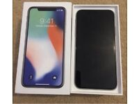 iPhone X 64gb O2 ONLY