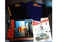 WAR MACHINE MAGAZINE ISSUES 1 - 144 (3 BINDERS) + MORE.. . PICK-UP ONLY