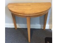 FOLDING ROUND DINING TABLE - Good Condition!