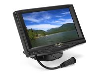 The 668GL-70NP/H/Y features a 7 inch screen with enhanced brightness, HDMI input and battery powered