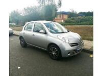 Nissan Micra 1.2, Long Mot, Service History, Low Miles, Cheap 4 Insurance, Excellent Reliable 5 Door