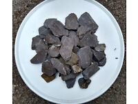 65kg grey garden stone chippings