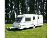 caravan. 4 berth. End washroom, Compass 490/4