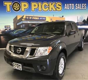 2014 Nissan Frontier SV, AUTOMATIC, CREW CAB, 4X4, BLUETOOTH!