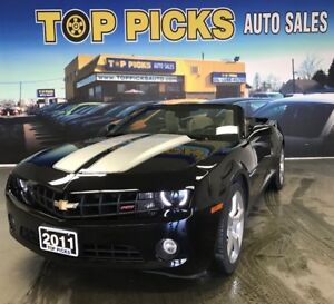 2011 Chevrolet Camaro 2LT, RS Package, ONE OWNER, ONLY 33,000kms