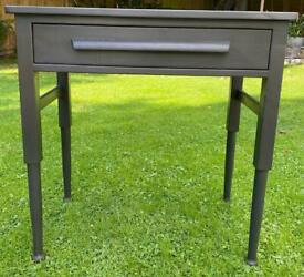 Grey Painted Console Table