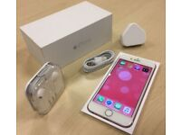 ** GRADE A ** Boxed Rose Gold Apple iPhone 6 16GB Factory Unlocked Mobile Phone + Warranty