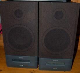 Two Nokia Bass Reflex High Dynamic Speakers