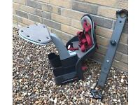 Weeride front childs seat