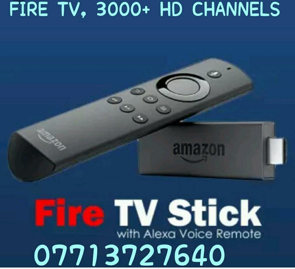 NEW FIRESTICK WITH 3000 + HD CHANNEL'S, TV GUIDE , 7 DAY CATCHUP& VOD FOR  MOVIES & MORE | in Bargeddie, Glasgow | Gumtree