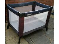 Mamas & Papas travel cot. Good quality. In clean condition. Easy to use.