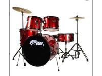 Tiger full drum kit