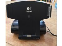 LOGITECH AV STAND WITH SPEAKERS FOR iPAD and I phone