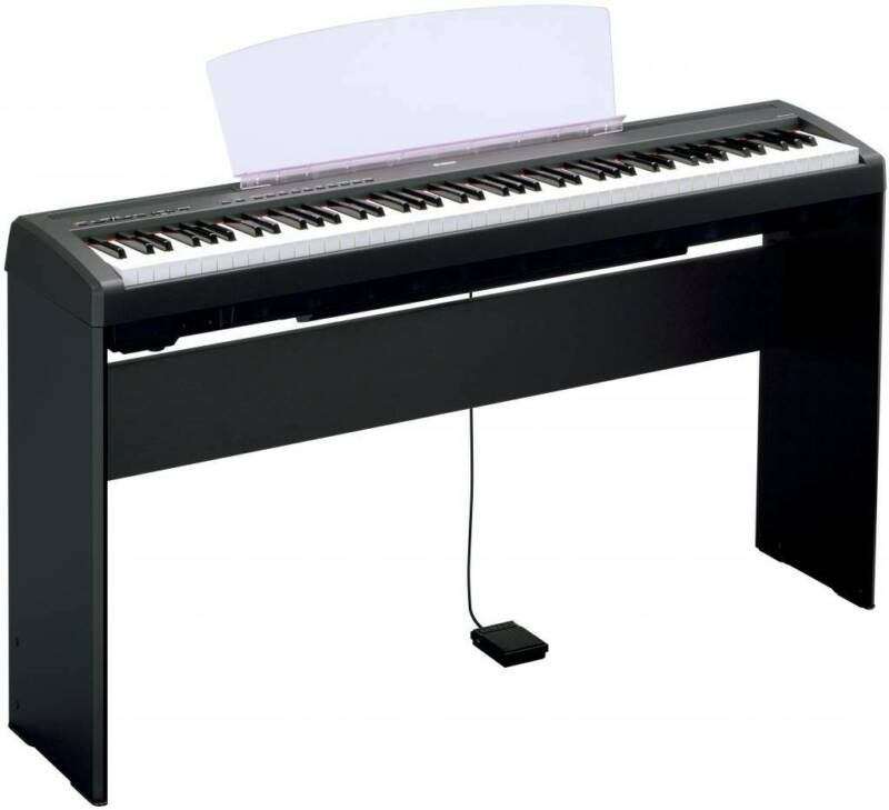 Yamaha L85 Black, Wood, Keyboard Stand for P105 & P45
