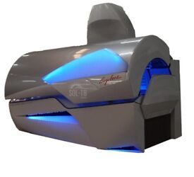 SUNBED ERGOLINE 800 EXCELLENCE LIMITED EDITION , TURBO POWER BREEZE , AQUA ,AUDIO ,VOICE ,MP-3 ,LED