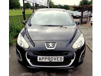 PEUGEOT 308 1.6 HDI ACCESS 5d 92 BHP Apply for finance Online (black) 2013