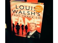 POP MUSIC BOOK, LOUIS WALSH'S FAST TRACK TO FAME. PROFESSIONAL ADVICE FROM EXPERTS IN THE INDUSTRY