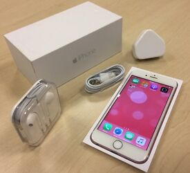 Boxed Rose Gold Apple iPhone 6 64GB Factory Unlocked Mobile Phone + Warranty