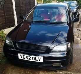 Vauxhall Astra sxi 03 1.8 16v