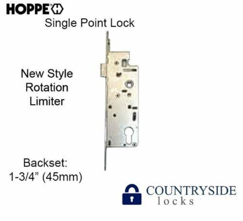 """HOPPE MORTISE LOCK, 1-3/4"""" BACKSET SINGLE POINT LOCK SPL) 1"""" DEADBOLT NEW STYLE"""