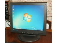 Relisys TL565 15 Inch LCD Monitor With In-Built Speakers